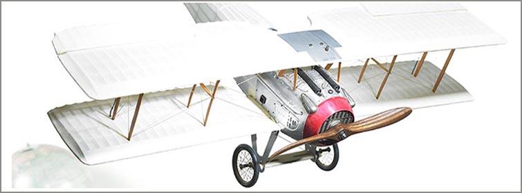 Maquettes d'avion