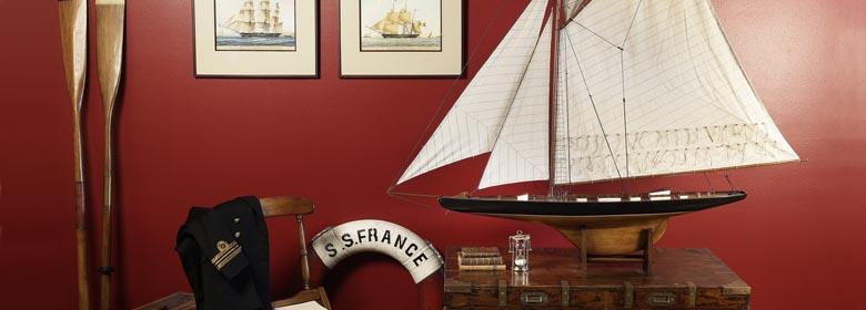 d coration marine objets marin. Black Bedroom Furniture Sets. Home Design Ideas
