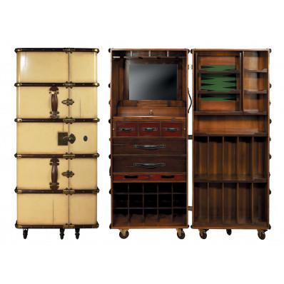 malle de cabine bar authentic models. Black Bedroom Furniture Sets. Home Design Ideas