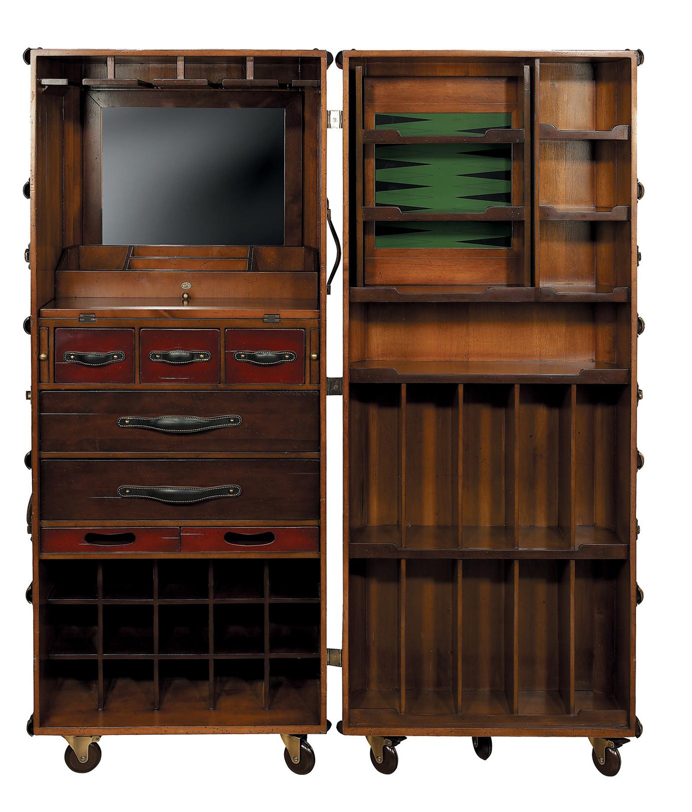 malle de cabine bar shop latitude deco. Black Bedroom Furniture Sets. Home Design Ideas