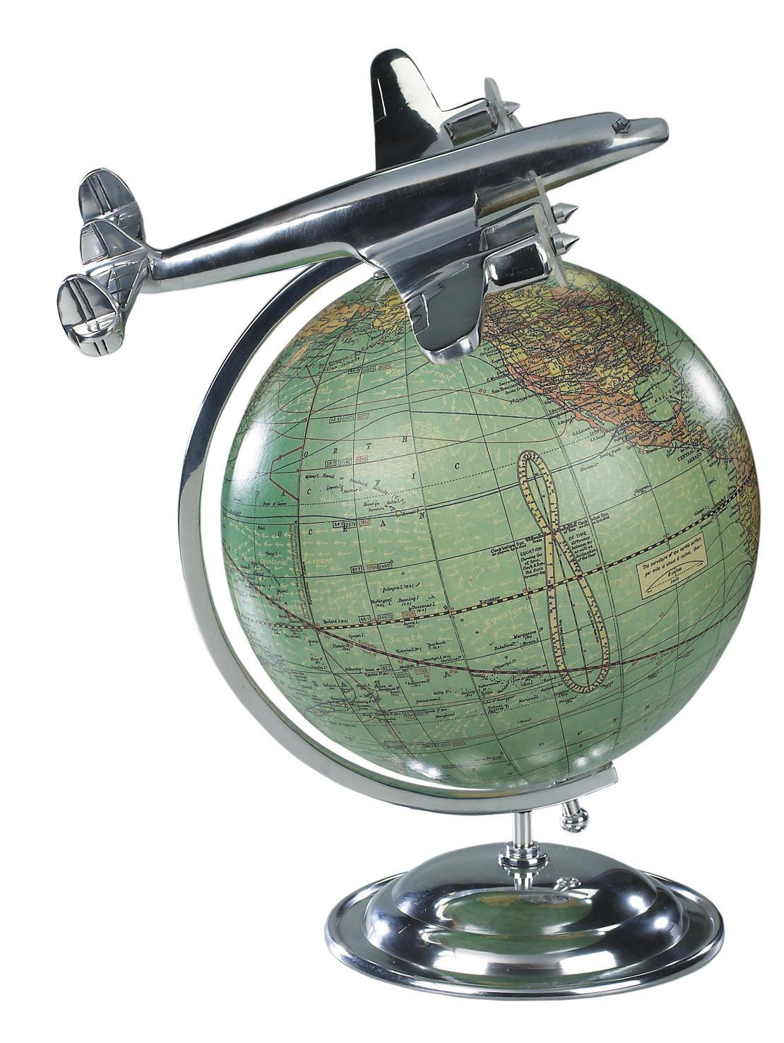 Objet aviation authentic model for Au bout du monde decoration
