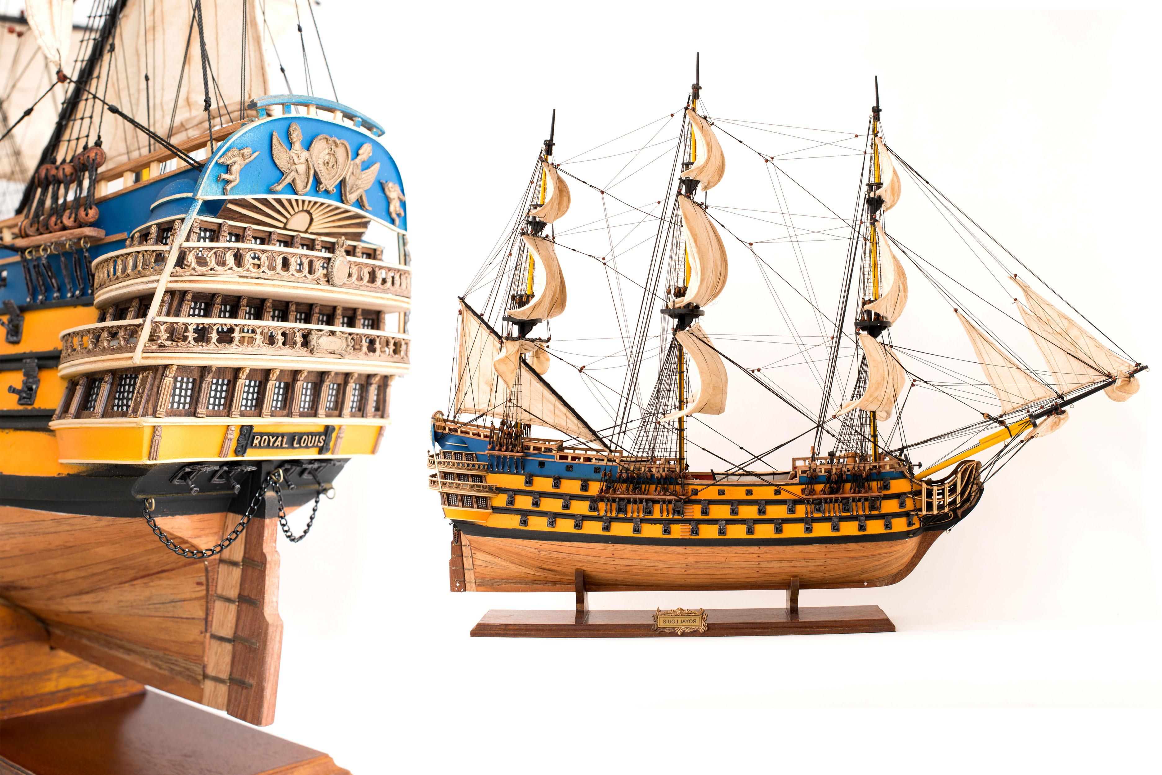 maquette bateau royal louis prix. Black Bedroom Furniture Sets. Home Design Ideas