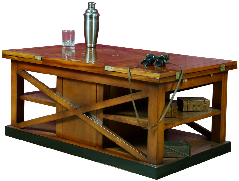 table basse bar pur malt shop latitude deco. Black Bedroom Furniture Sets. Home Design Ideas
