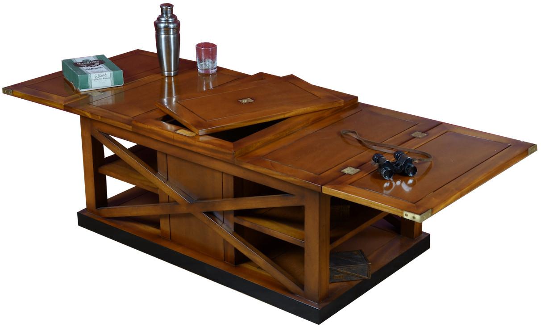 Table basse ovale marine for Table 6 usmc