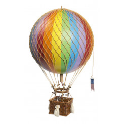 Ballon Jules Vernes 42 cm , Arc/Ciel