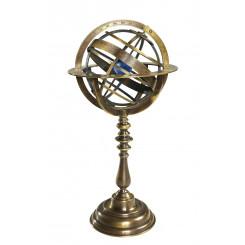 Cadran Armillaire, Bronze