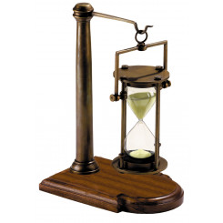 Sablier Bronze/Pied 30 Minutes