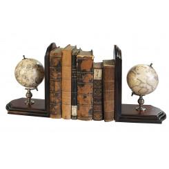 Globes Serre-Livres (paire)