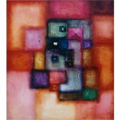 Tableau de LOKA DANA réf 186 (80 x 100 cm)