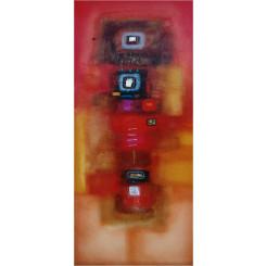 Tableau de LOKA DANA réf 235 (40 x 120 cm)