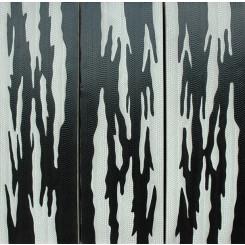 Tableau tryptique d'Art Aborigène réf 188 (30 x 90 cm)